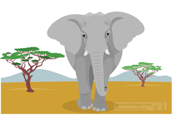 african-elephant-in-the-african-savanna-clipart-image-5192.jpg
