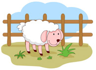 Farm Fence Clipart free farm animals - clip art pictures - graphics - illustrations
