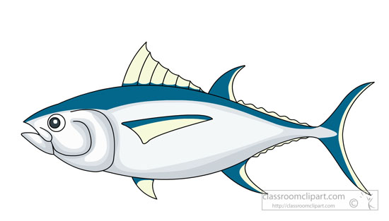 Yellowfin Tuna Clip Art - #1 Clip Art & Vector Site •