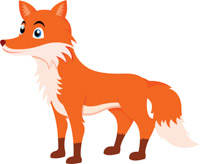 free fox clipart clip art pictures graphics illustrations rh classroomclipart com clipart fox images clip art fox face