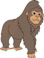 free gorilla clipart clip art pictures graphics illustrations rh classroomclipart com gorilla clipart images gorilla clipart png