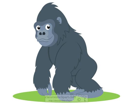 ground-dwelling-gorilla-primate-clipart.jpg