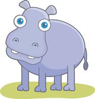 Free Hippo Clipart - C...
