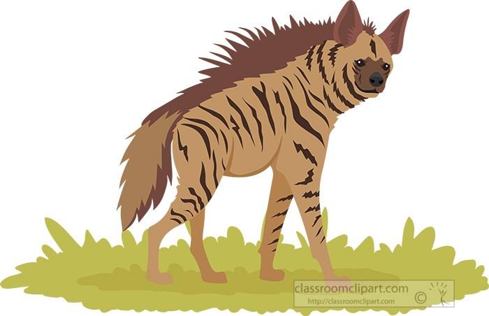 striped-hyena-in-africa-clipart.jpg