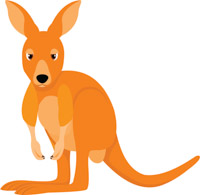 Free Kangaroo Clipart Clip Art Pictures Graphics