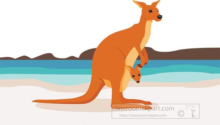 kangaroo-with-joey-on-beach-in-australia-clipart.jpg