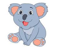 free koala clipart clip art pictures graphics illustrations rh classroomclipart com koala clipart cute koala clipart cute