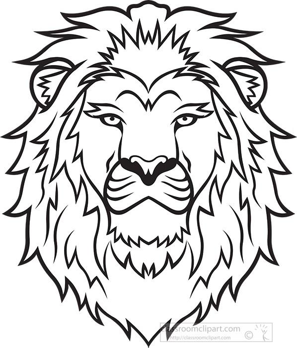 large-lion-head-black-outline-clipart.jpg