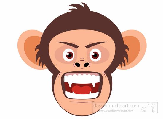 chimpanzee-angree-expression-clipart-6926.jpg