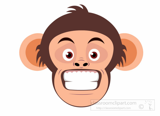 chimpanzee-showing-teeth-aggressive-expression-clipart-6926.jpg