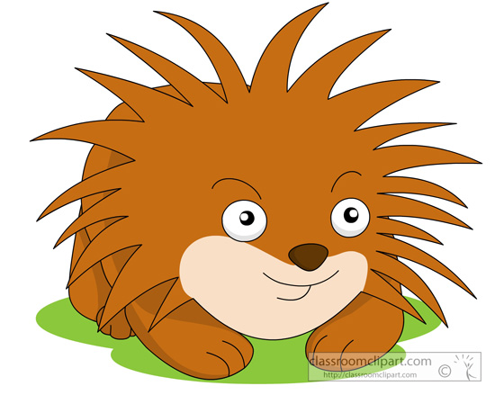 Clip Art Porcupine Clipart free porcupine clipart clip art pictures graphics illustrations size 103 kb