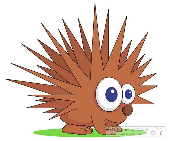 Porcupine Clipart : porcupine_02_118 : Classroom Clipart
