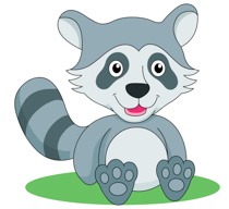 free raccoon clipart clip art pictures graphics illustrations rh classroomclipart com raccoon clipart pictures raccoon clipart pictures