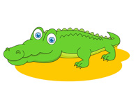 Free Crocodile Clipart - Clip Art Pictures - Graphics ... - photo#10