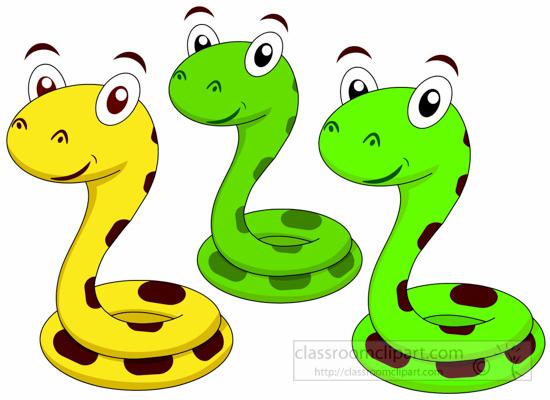 Snake Clipart : cute-snake-cartoon-characters-116-clipart ... Cute Reptiles Clipart