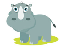 Free Rhino Clipart - Clip Art Pictures - Graphics ...