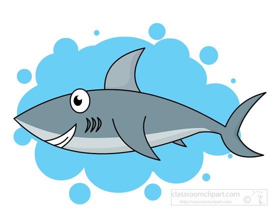Shark Clipart Clipart- swimming-shark-115 - Classroom Clipart