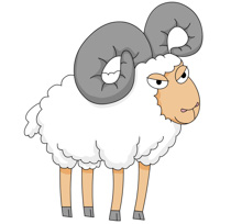 Free Sheep Clipart - Clip Art Pictures - Graphics - Illustrations