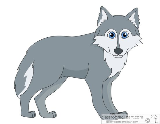Free Wolf Clipart - Clip Art Pictures - Graphics - Illustrations
