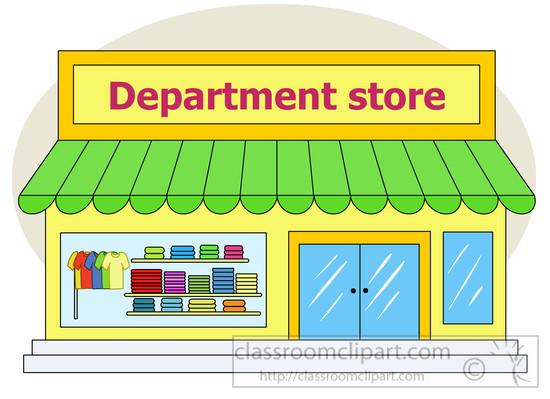 Architecture Clipart- department_store-exterior-clipart ...