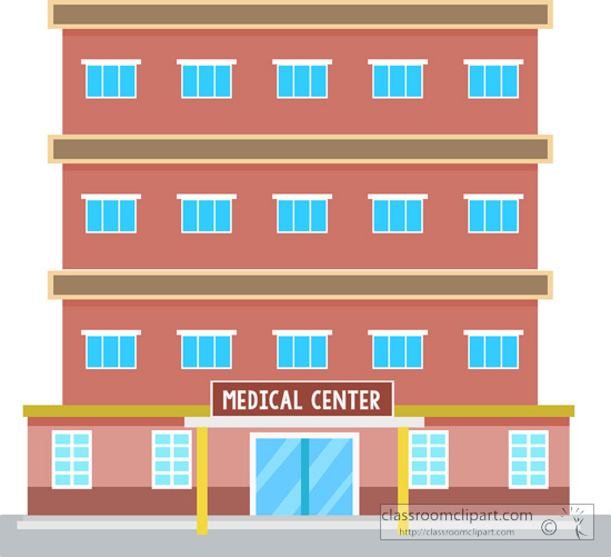 Architecture : medical-center-building-clipart-045 ...