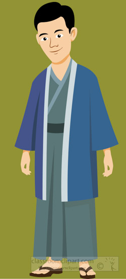 Man-Wearing-Japanese-Traditional-Clothing-japan-Asia-Clipart-4.jpg