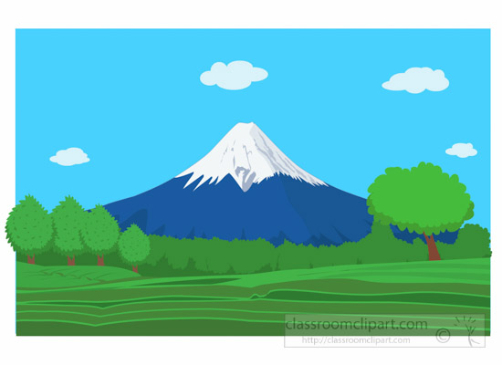 Mount-Fugi-with-snow-Japan-Asia-Clipart.jpg