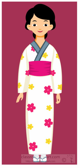 Woman-Wearing-Japanese-Traditional-Clothing-japan-Asia-Clipart.jpg