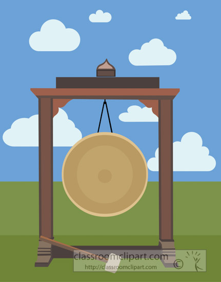 asian-metal-gong-with-clouds-sky-vector-clipart-image.jpg