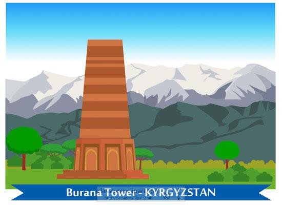 burana-tower-kyrgyzstan-clipart-718.jpg