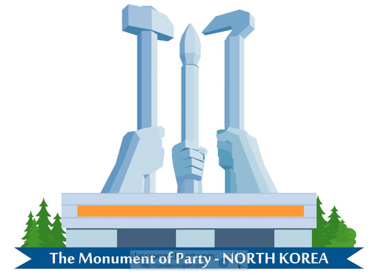 monument-of-party-north-korea-clipart.jpg