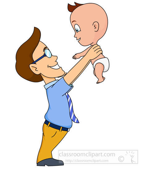 Baby Clipart Dad Lifting A Baby With Smile Clipart 5122 Classroom Clipart Two children hanging out with their dad in the living room at christmas. baby clipart dad lifting a baby with smile clipart 5122 classroom clipart