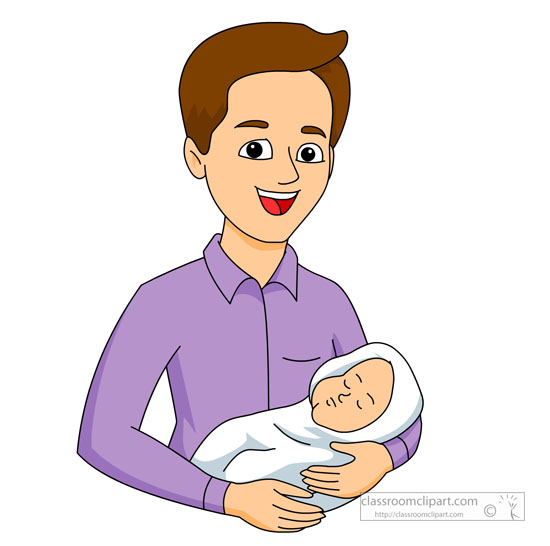new dad clipart - photo #1