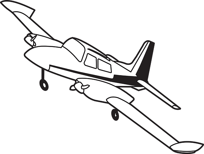black-white-outline-twin-engine-airplane-clipart-015.jpg