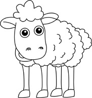 Free Black and White Animals Outline Clipart - Clip Art ...