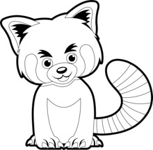 Free Black and White Animals Outline Clipart - Clip Art