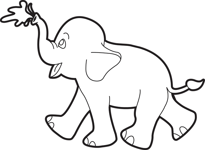 baby-elephant-spraying-water-from-trunk-outline-clipart.jpg
