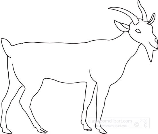 billy-goat-animal-outl...