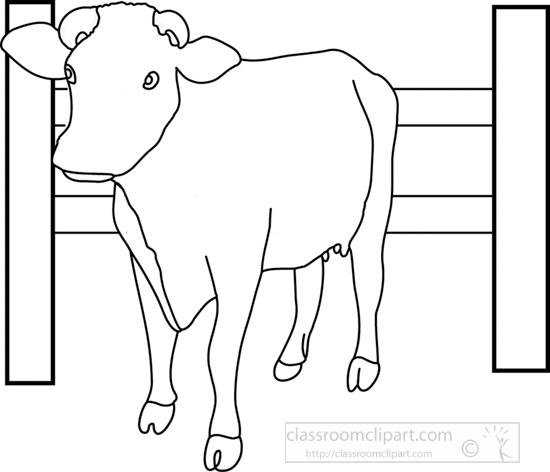 cow_near_fence_3612_outline.jpg