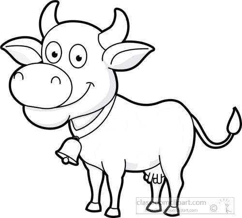 cute-cow-wearing-bell-smiling-clipart-5931outline-bw.jpg