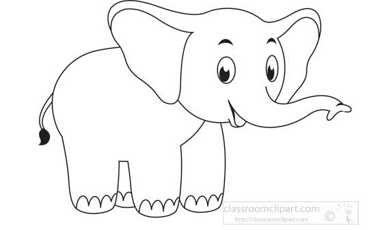 cute-elephant-animal-educational-clip-art-graphic-black-white-outline-clipart.jpg