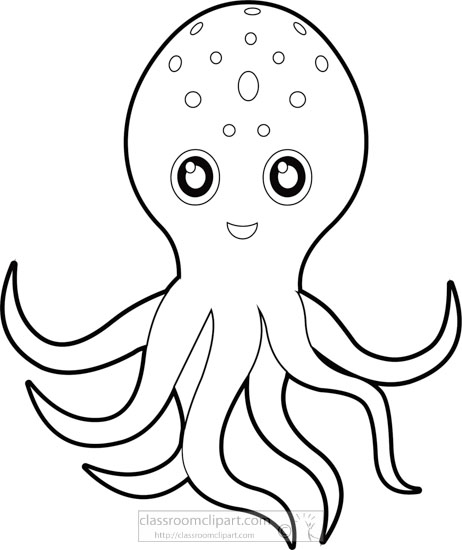 cute-pink-cartoon-style-octopus-black-white-outline-clipartA.jpg