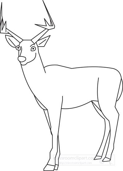 Similiar Mammals Deer Outlines Keywords