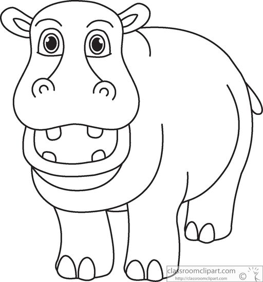 hippo-black-white-outline-clipart-914.jpg