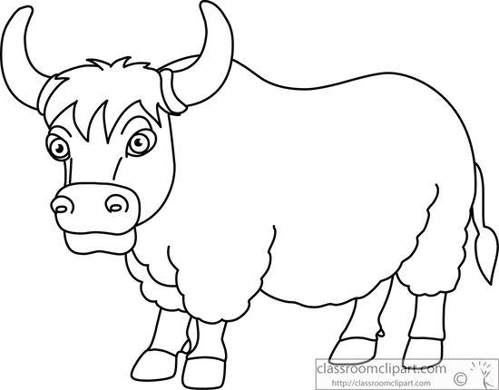 horned-yak-black-white-outline-clipart-914.jpg