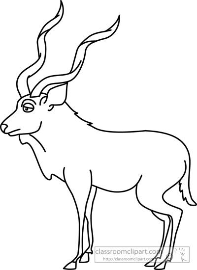 kudu_02_outline_clipart_118.jpg