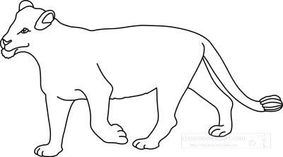 lioness_clipart_212_outline.jpg