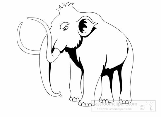 mammoth-prehistory-black-white-clipart.jpg