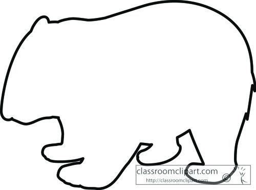 marsupial_wombat_outline_clipart_713.jpg