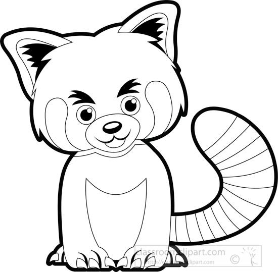 small-baby-red-panda-animal-black-white-outline-clipart.jpg